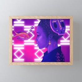 Calm Framed Mini Art Print