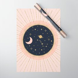 Love in Space Wrapping Paper
