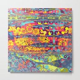 Modern Fractal Abstract 31: Broken Symmetries 2 Metal Print