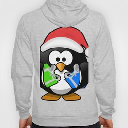 Penguin with Gifts Hoody