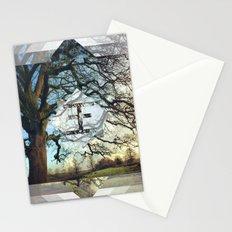 Geo Tree Stationery Cards