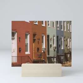 Rowhouses Mini Art Print