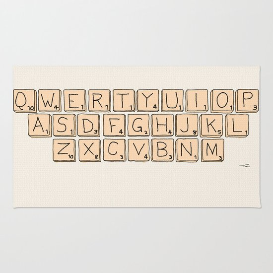 qwerty-scrabble-rugs scrabble rug
