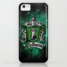 Slytherin team flag iPhone 4 4s 5 5c, ipod, ipad, pillow case, tshirt and mugs iPhone 5c Slim Case
