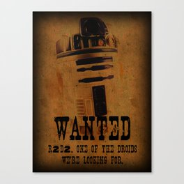 Reward For Capture ~ Not To Be Strangled With The Force Canvas Print