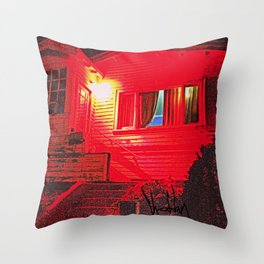 Vacant Mind Throw Pillow