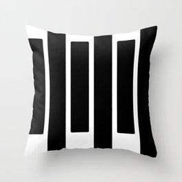 Paso de Cebra Throw Pillow