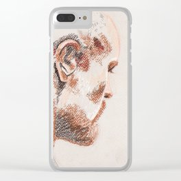 Violent Heart, Tender Soul Clear iPhone Case