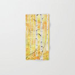 Autumn Birch Hand & Bath Towel