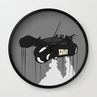 police Wall Clocks featuring Police 995 by Tony Vazquez