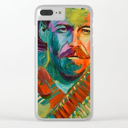 Pancho Villa Clear iPhone Case