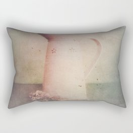 Vintage in Pink Rectangular Pillow