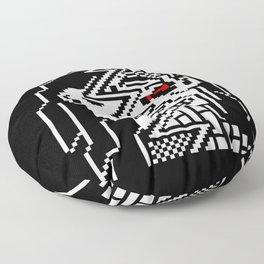 Teletext Monster Girl Floor Pillow
