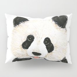 naughty little panda Pillow Sham