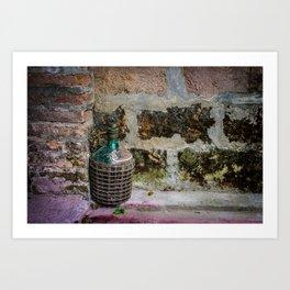 """""""Wine Mug"""" Art Print"""