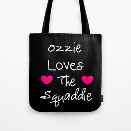 Doctor Who Ozzie Loves The Squaddie Tote Bag