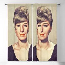 Barbra Streisand, Hollywood Legend Blackout Curtain