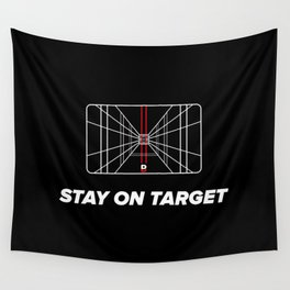 Stay on target Wall Tapestry