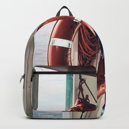 On board the Fishing Boat Backpack