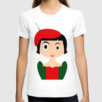 amelie T-shirts featuring Amelie by Creo tu mundo