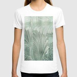 Blurry leaves T-shirt