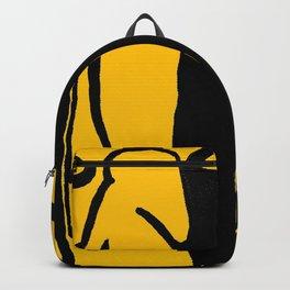 Make my Dick GREAT again - Yellow Backpack