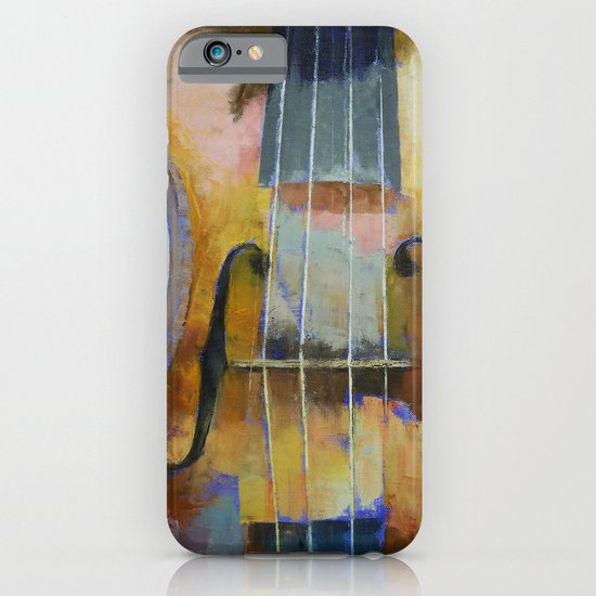 Violin Painting iPhone & iPod Case