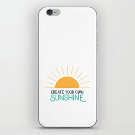 Create Your Own Sunshine iPhone Skin