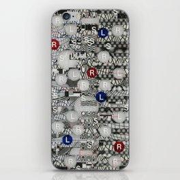 Do The Hokey Pokey (P/D3 Glitch Collage Studies) iPhone Skin