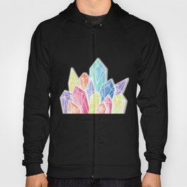 Crystals Yellow Hoody