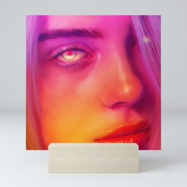 Colorful Billie Mini Art Print