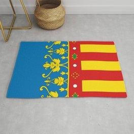 Flag of Valencia Rug