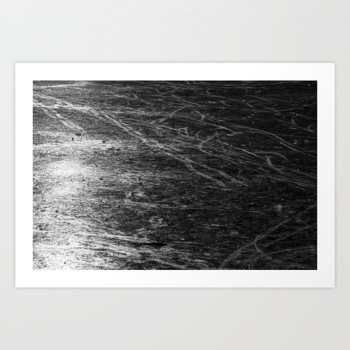 Icy Days NO5 Art Print