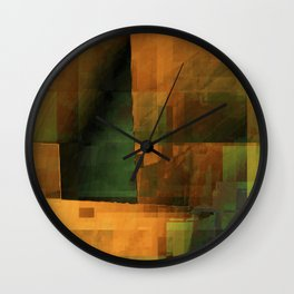 don't go there Wall Clock