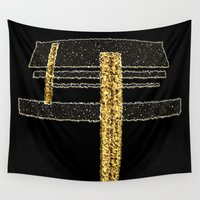 metal Wall Tapestries featuring Metal by Maria Julia Bastias