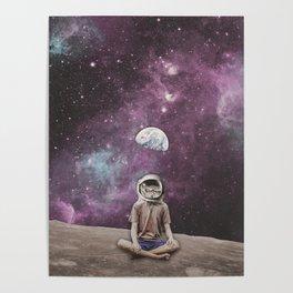 PSYCHONAUT UNIVERSE MEDITATION Poster