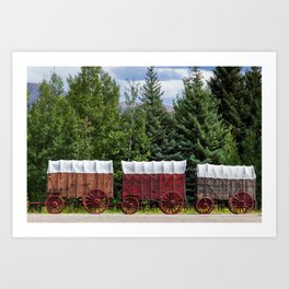 You Died of Dysentery Art Print