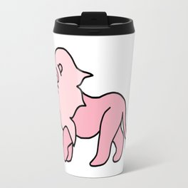 Pink Floof Travel Mug