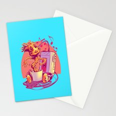 GROOVIN' THROUGH THE GALAXY Stationery Cards