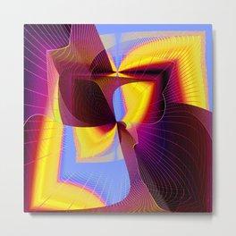 covert symetry Metal Print