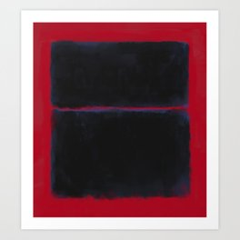 Rothko Inspired #6 Art Print