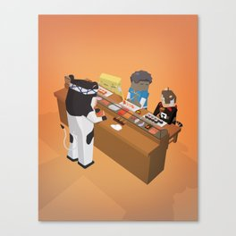 The Nick Yorkers in September Canvas Print