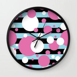 Party Confetti 3 Wall Clock