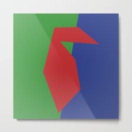 Minimalism Abstract Colors #19 Metal Print