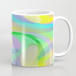 Soft Rainbow Abstract - Painterly Coffee Mug