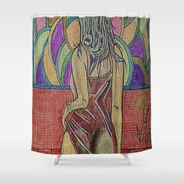 LA ESPERA 2 Shower Curtain