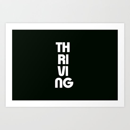 Thriving Art Print