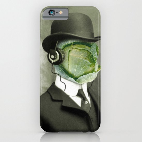 Bowler cabbage iPhone & iPod Case