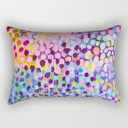 Paint dots Rectangular Pillow