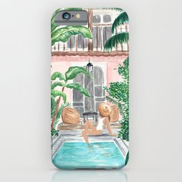 Moroccan Dream - Brunette Hair (Other Hair & Skin Tones Available) iPhone Case